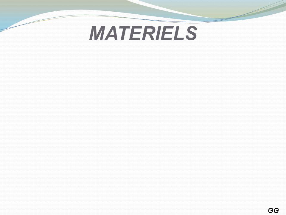 MATERIELS GG 1