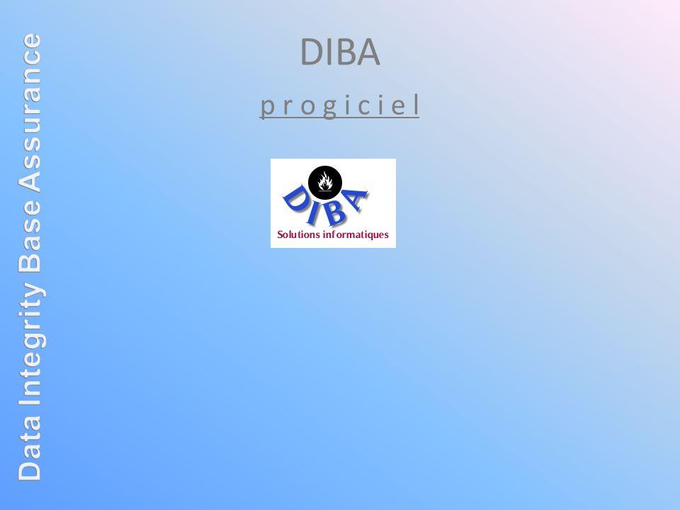 DIBA est un progiciel dédié à la gestion: des compagnies dassurance.