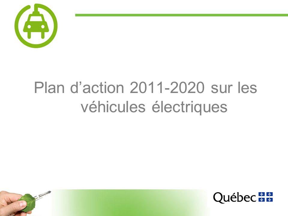 2 Plan daction 2011-2020 sur les véhicules électriques