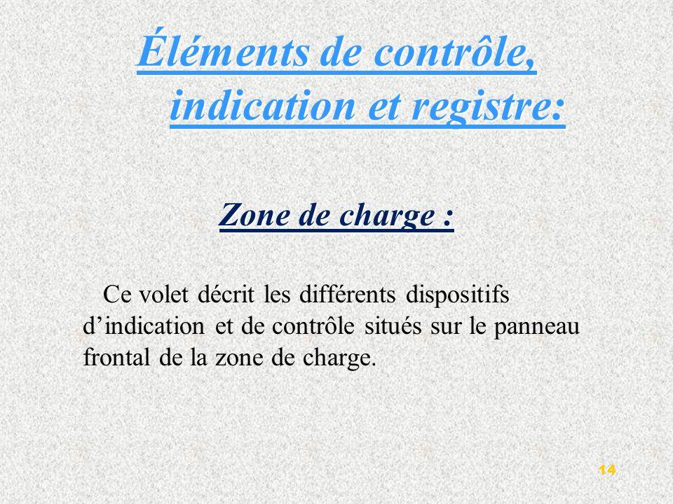 1.interrupteur principal 2. tableau de commande 3.imprimante numérique 4.Enregistreur graphique 5.