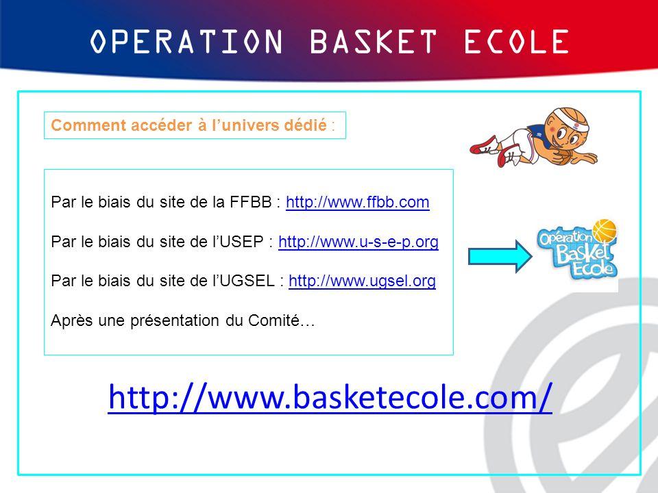 http://www.basketecole.com/ Par le biais du site de la FFBB : http://www.ffbb.comhttp://www.ffbb.com Par le biais du site de lUSEP : http://www.u-s-e-