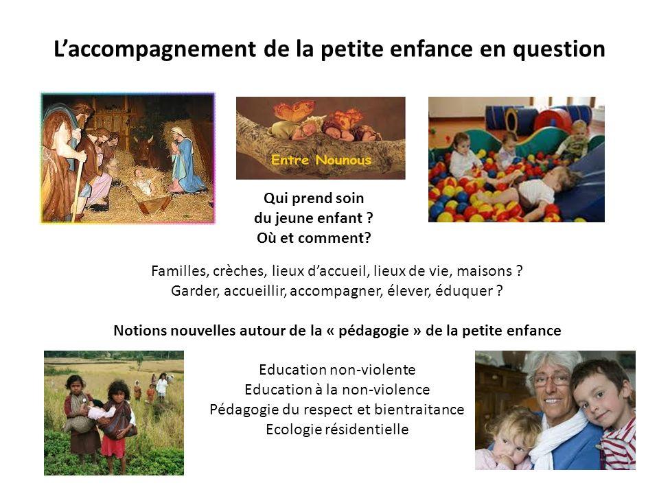 Laccompagnement de la petite enfance en question Familles, crèches, lieux daccueil, lieux de vie, maisons .