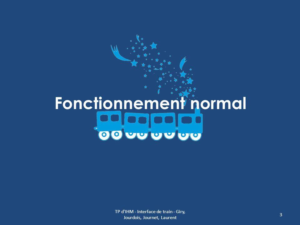 Fonctionnement normal TP d'IHM - Interface de train - Giry, Jourdois, Journet, Laurent 3