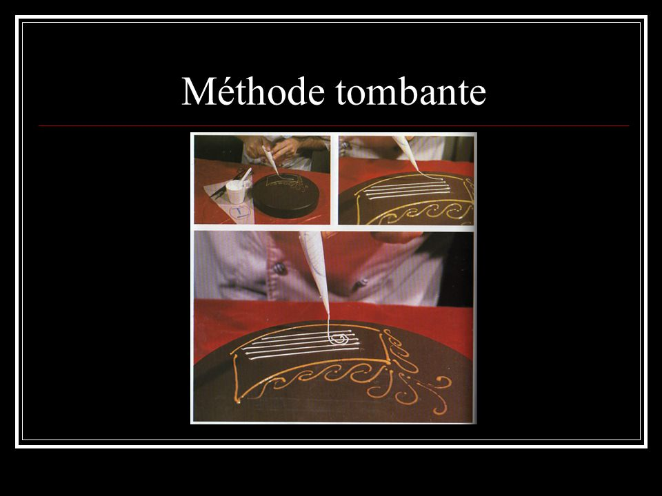 Méthode tombante