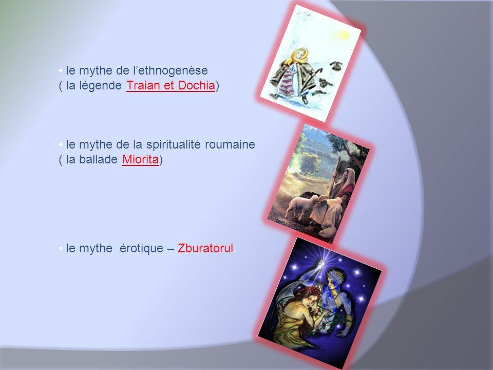 Le mythe a été le point de départ pour beaucoup de créations littéraires qui ont un fort spécifique national comme par exemple Zburatorul écrit par I.