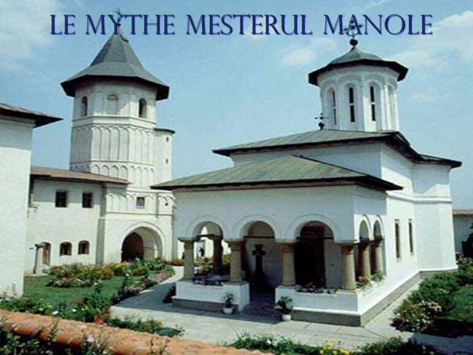 Le mythe Mesterul Manole a un effet très fort sur la conscience roumaine.Le thème du mythe,est celui dune circulation plus large que le territoire de notre pays, mais la version roumaine est originale et autochtone parce quelle est liée au monastère Curtea de Arges, devenu pour notre littérature Notre Dame de Paris.