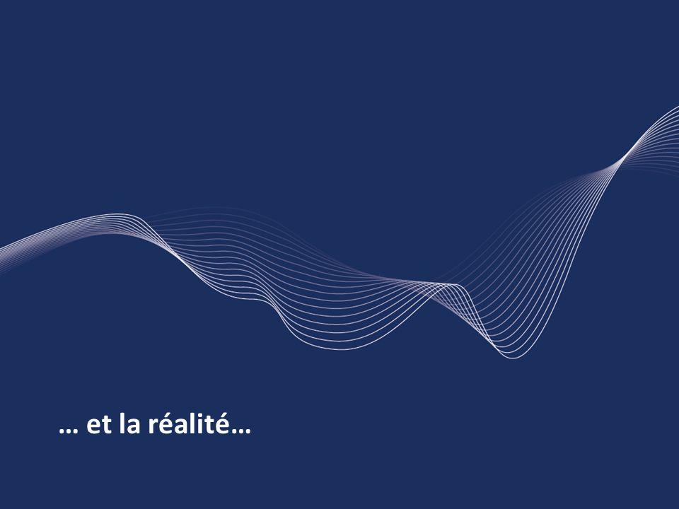 … et la réalité…