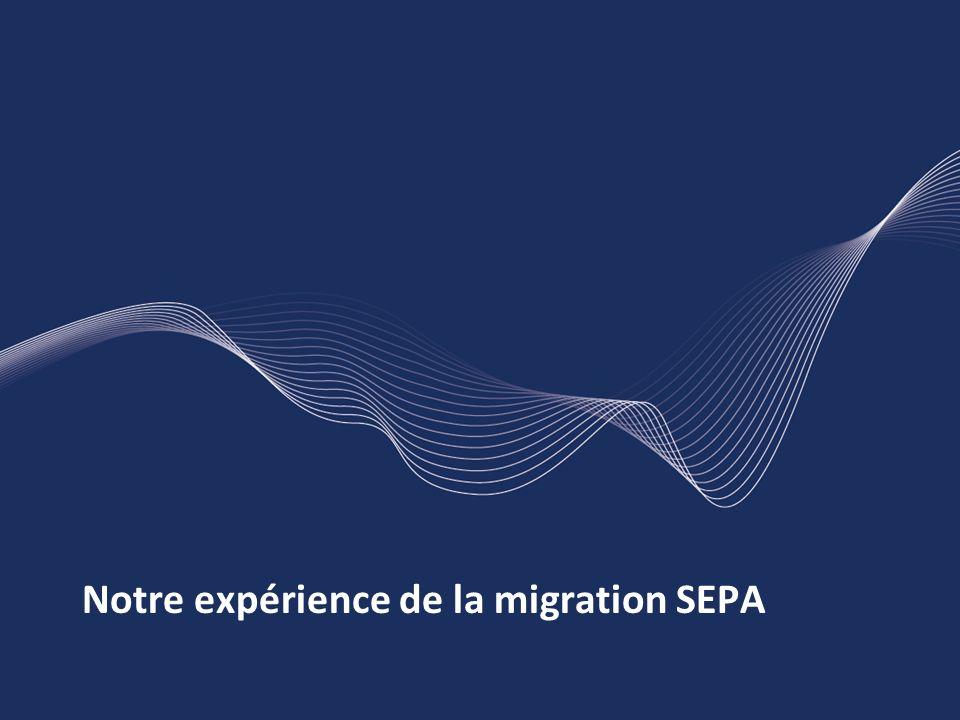 Notre expérience de la migration SEPA