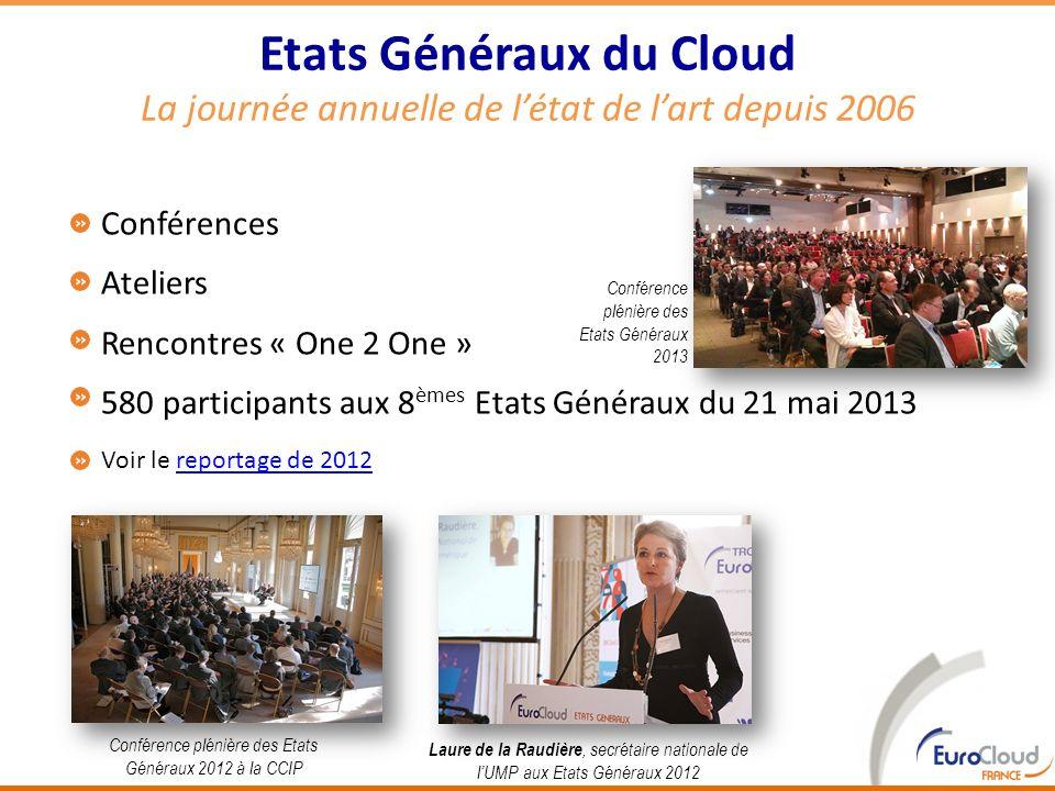 Conférences Ateliers Rencontres « One 2 One » 580 participants aux 8 èmes Etats Généraux du 21 mai 2013 Voir le reportage de 2012reportage de 2012 8 E