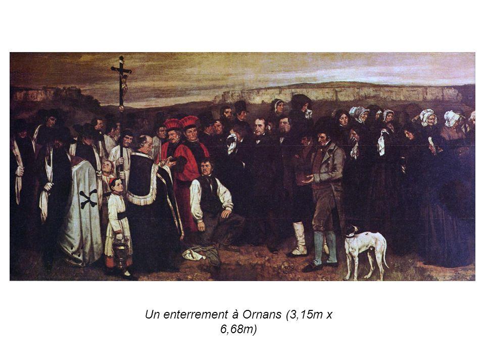 Un enterrement à Ornans (3,15m x 6,68m)