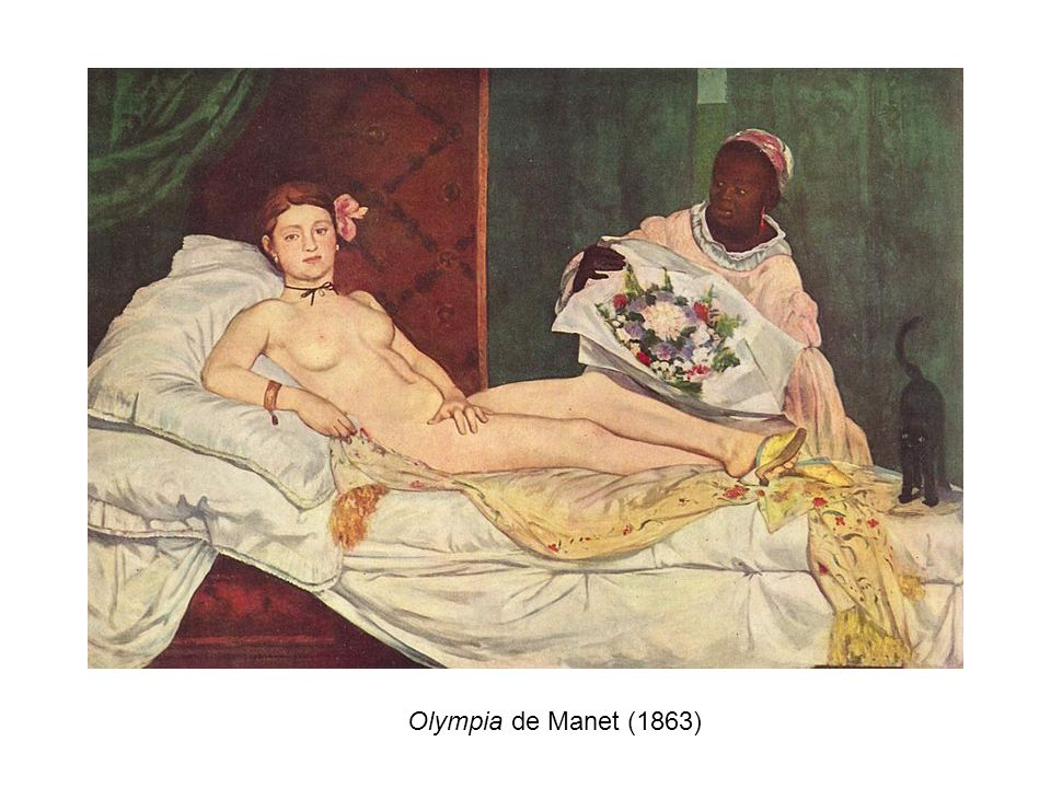 Olympia de Manet (1863)