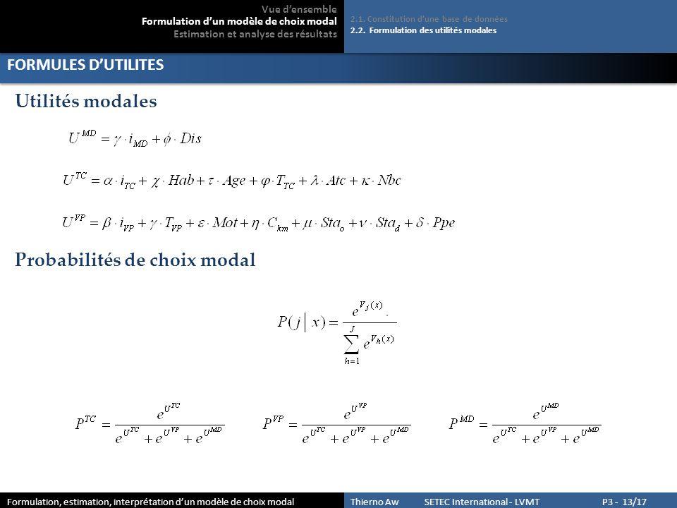 ESTIMATION POUR LES MOTIFS CONTRAINTS 3.1.Estimation 3.2.