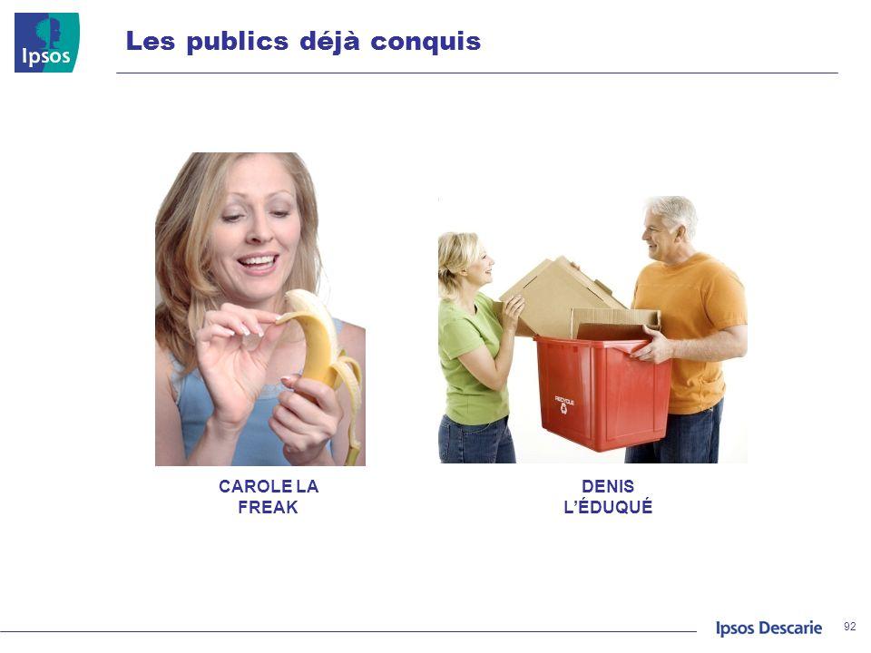 Les publics déjà conquis 92 DENIS LÉDUQUÉ CAROLE LA FREAK