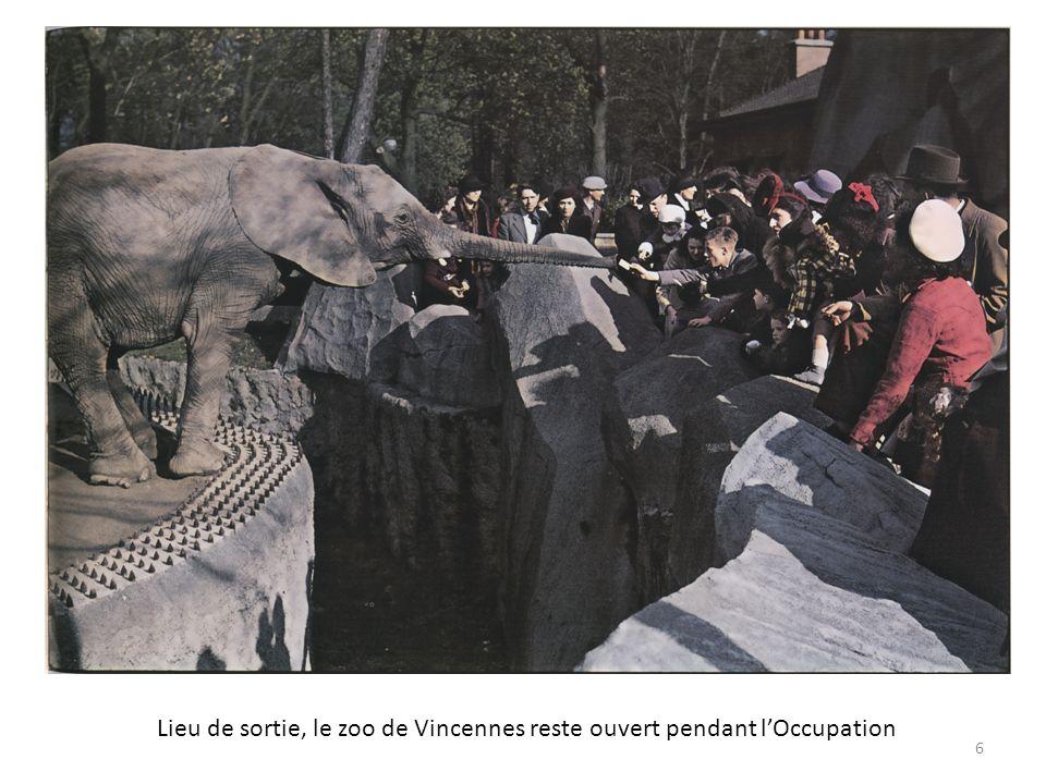 Lieu de sortie, le zoo de Vincennes reste ouvert pendant lOccupation 6