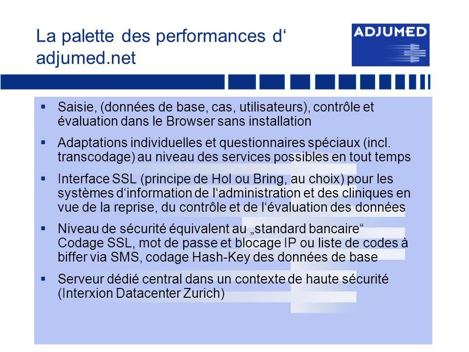 Adjumed.net: Imprimer le rapport