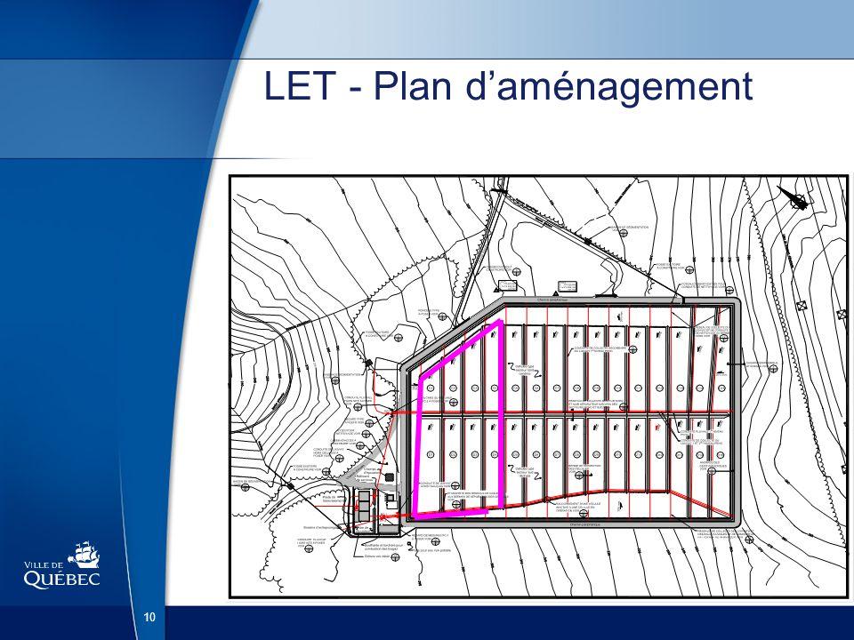 10 LET - Plan daménagement