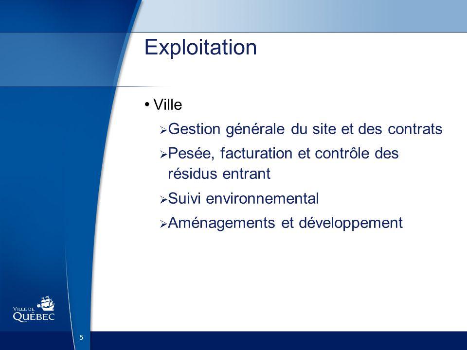 16 LET - Sécurité environnementale Station de traitement du lixiviat produit au LES et au LET (Juillet 2009)