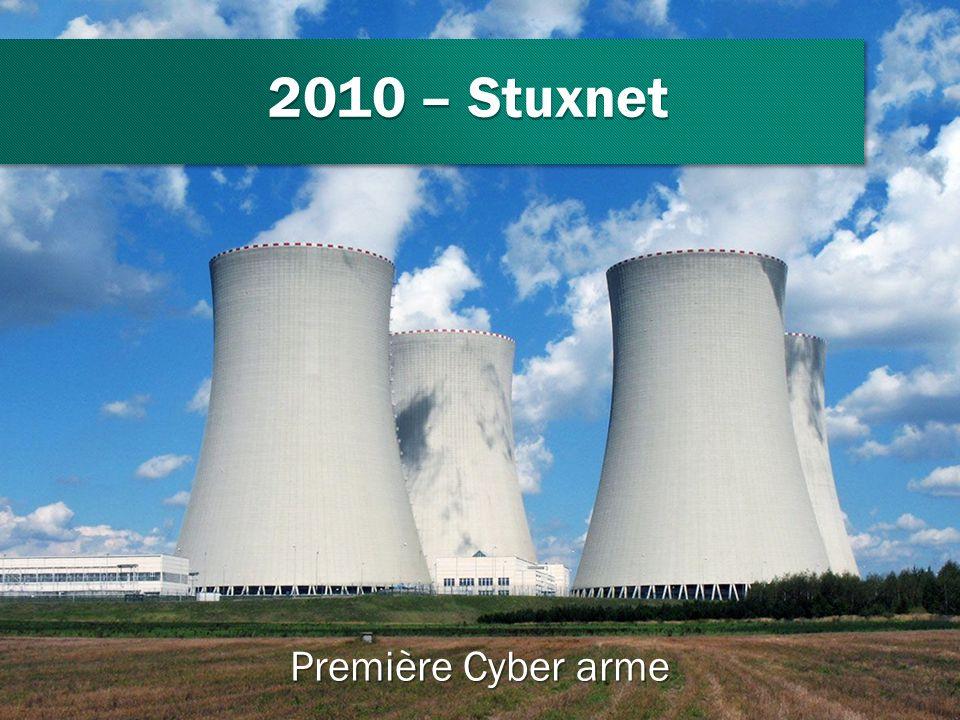 2010 – Stuxnet Première Cyber arme