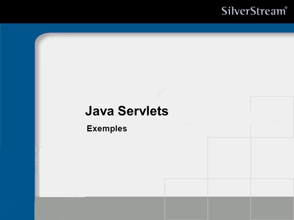 Java Servlets Exemples