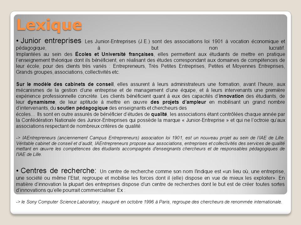 Arborescence n°2: Les types dinnovations Open innovation Marketing Participatif ou co-création* Communication participative Innovation participative Co-branding* Innovation clé en main Crowdsourcing* * Une définition est donnée page suivante.