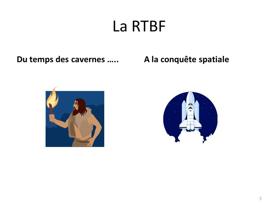 La RTBF Du temps des cavernes …..A la conquête spatiale 3