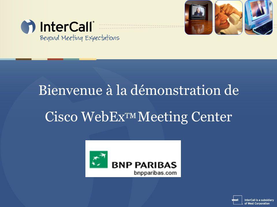 Objectif: Cette démonstration a pour objectif de vous permettre de programmer et de tenir une réunion à distance via WebEx Meeting Center.