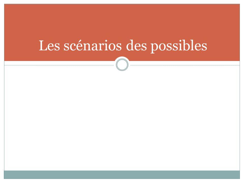 Les scénarios des possibles