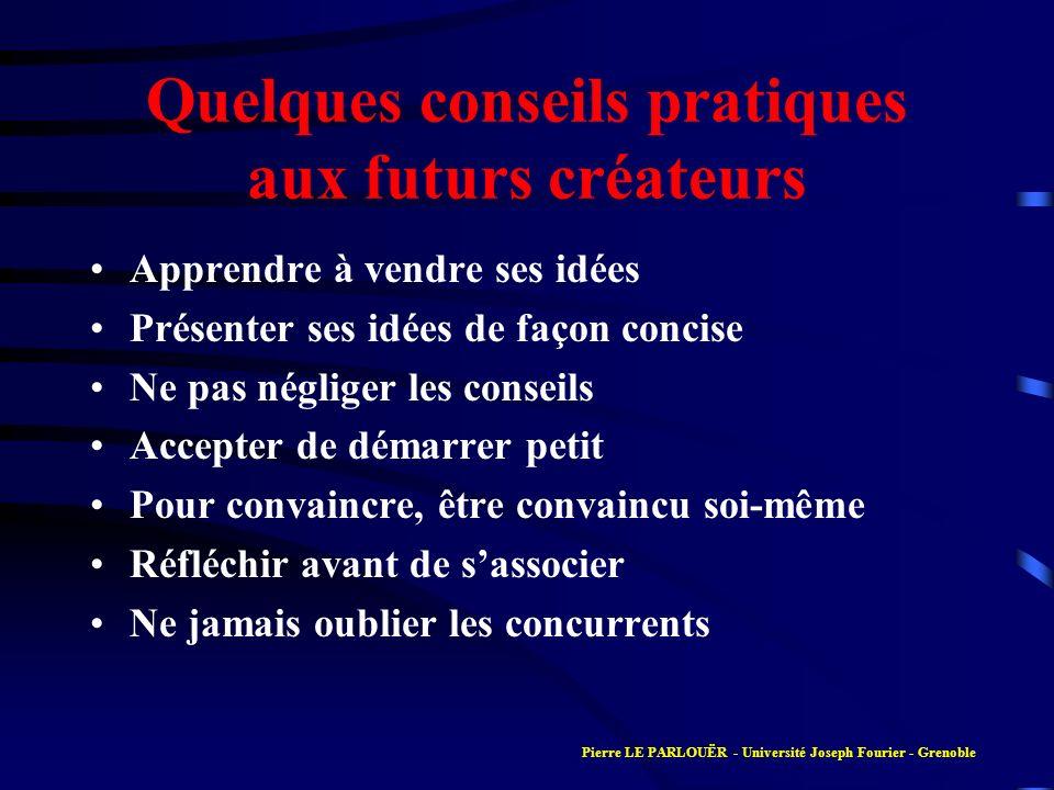 Présentation du compte de résultat Pierre LE PARLOUËR - Université Joseph Fourier - Grenoble