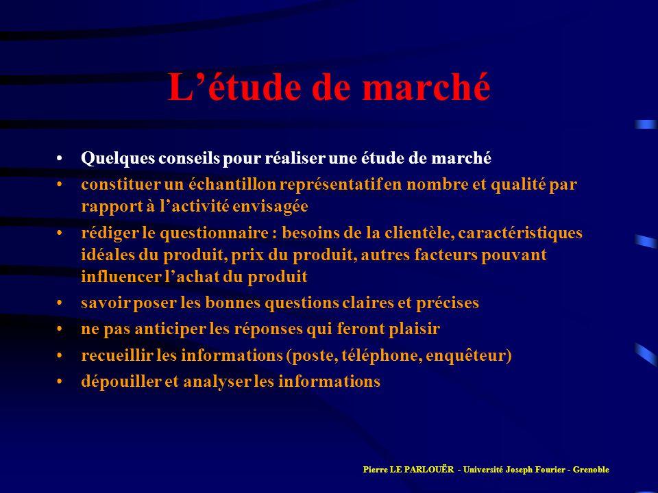 Présentation simplifiée du compte de résultat CHARGES EXPLOITATION CHARGES FINANCIERES CHARGES EXCEPTIONNELLES PARTICIPATION IMPOT SUR BENEFICES RESULTAT PRODUITS EXPLOITATION PRODUITS FINANCIERS PRODUITS EXCEPTIONNELS Pierre LE PARLOUËR - Université Joseph Fourier - Grenoble