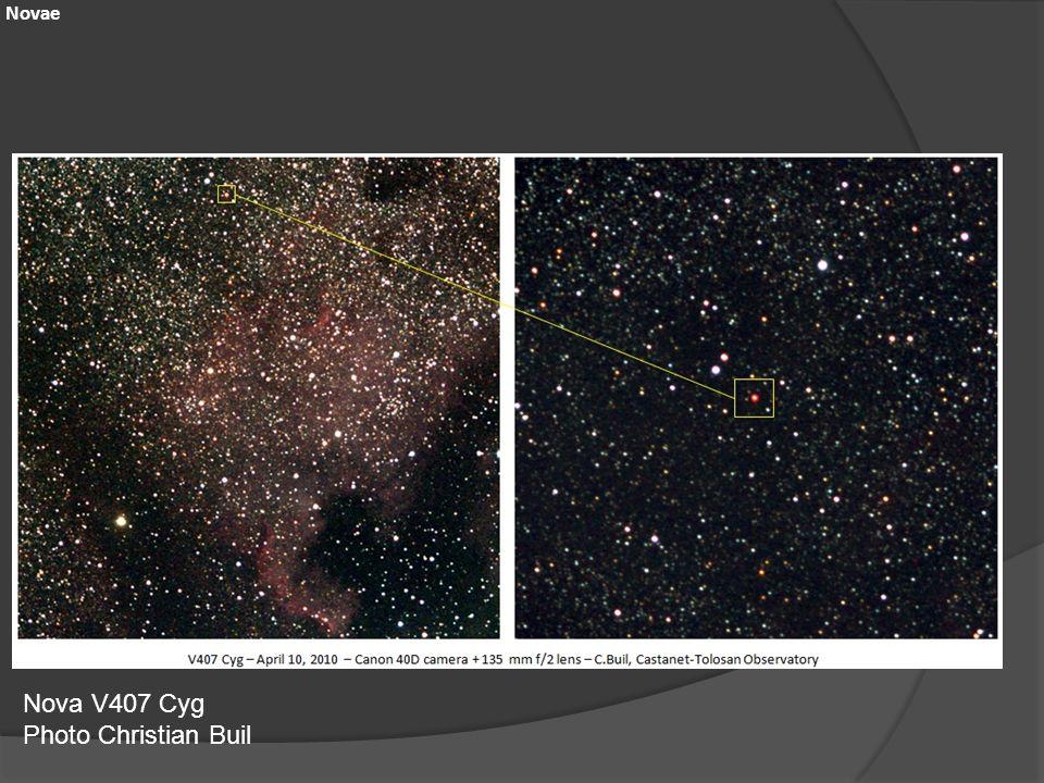 Nova V407 Cyg Photo Christian Buil