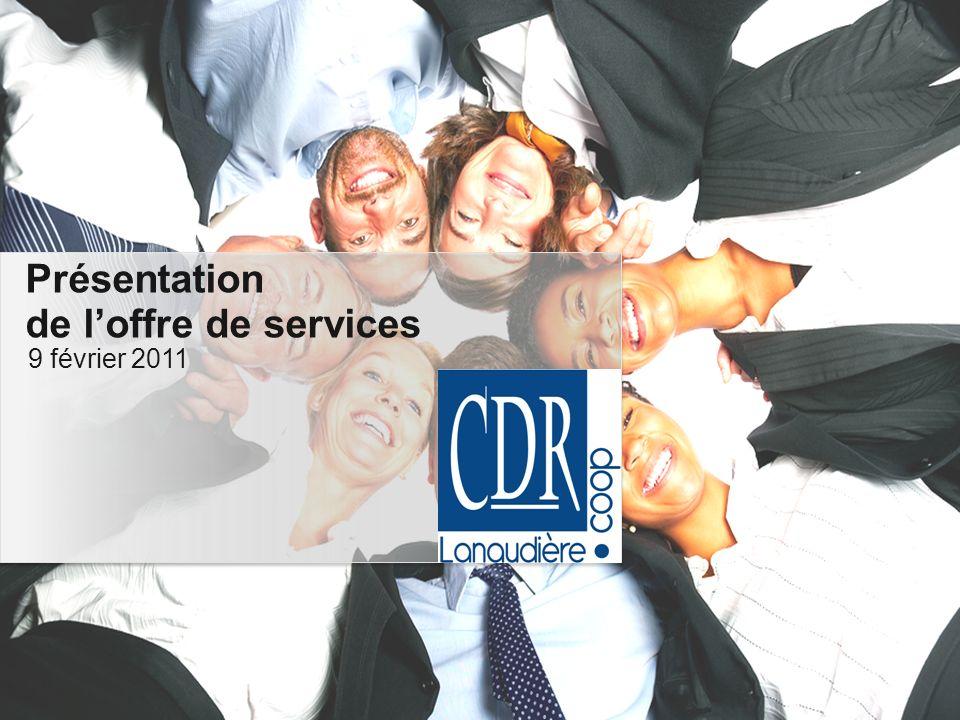 Déroulement Accueil et mot de bienvenue Loffre de services Discussions Présentations Outils de transmission dentreprise 55 4 4 3 3 2 2 1 1