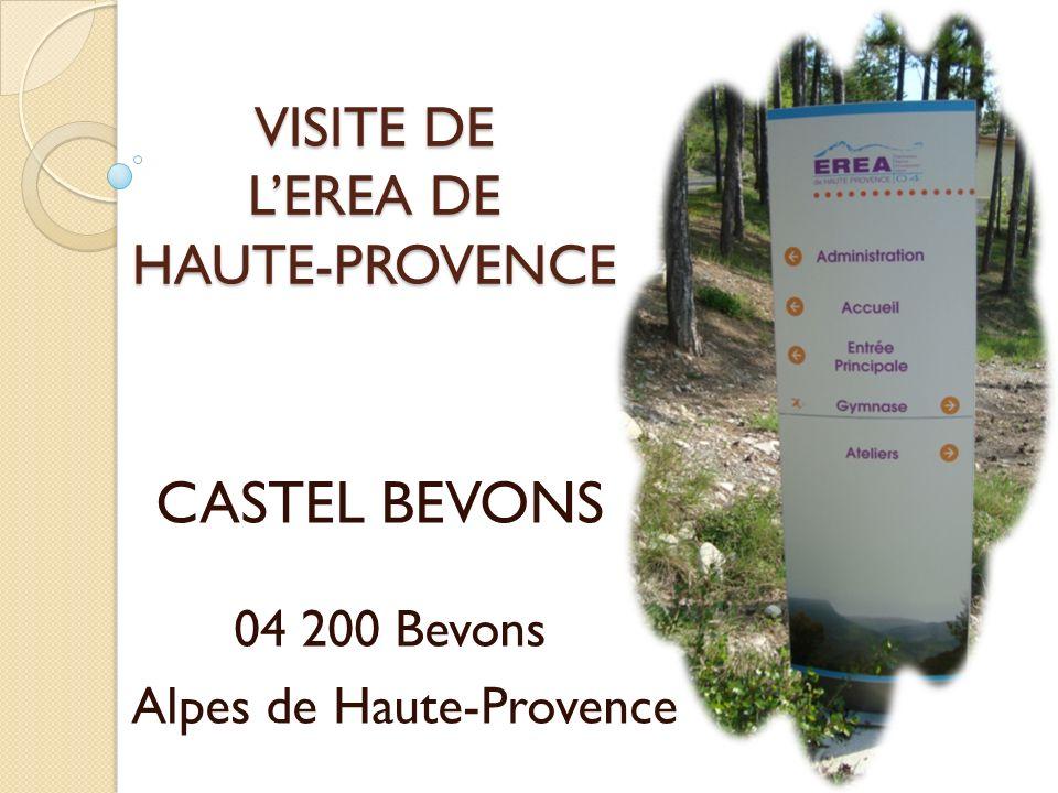 VISITE DE LEREA DE HAUTE-PROVENCE CASTEL BEVONS 04 200 Bevons Alpes de Haute-Provence