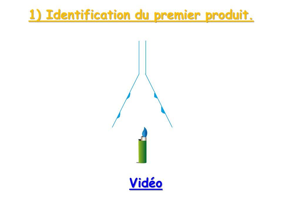 1) Identification du premier produit. Vidéo
