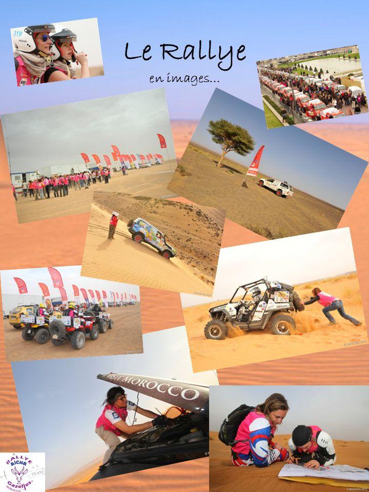 Le Rallye la démarche environnementale… Le rallye Aïcha des gazelles a obtenu en 2010 sa certification de Management Environnemental « ISO 14001:2004 », le premier rallye raid à sinscrire dans une démarche environnementale et citoyenne.