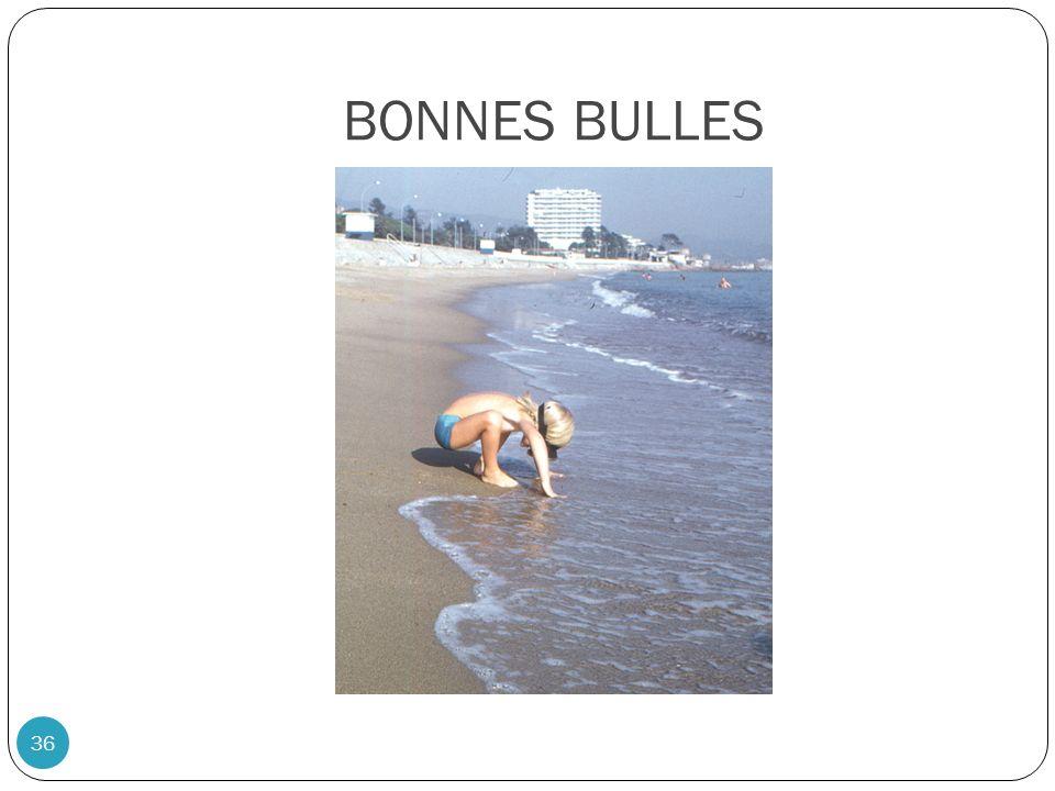 BONNES BULLES 36