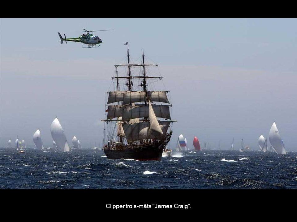 Clipper trois-mâts James Craig .