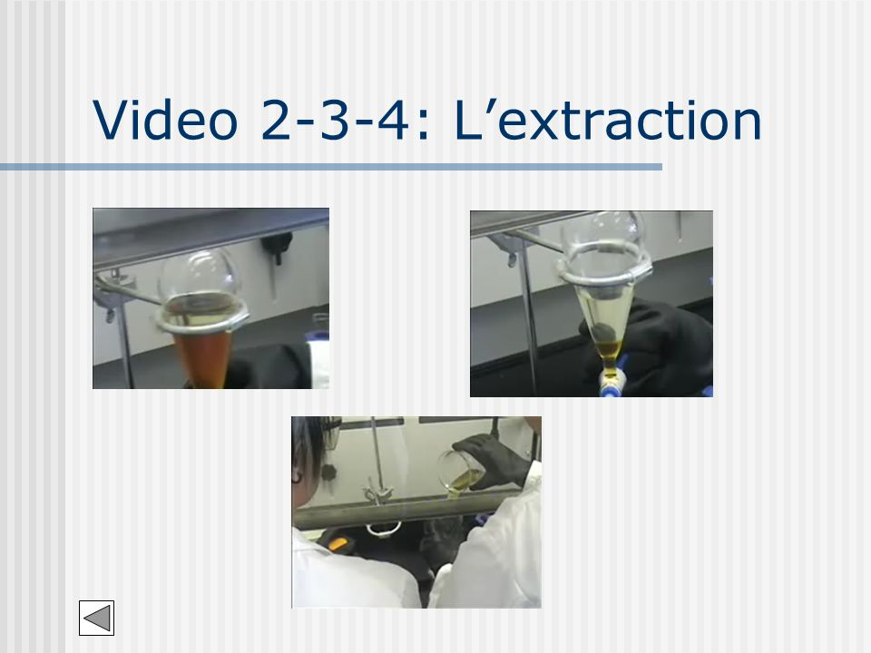 Video 2-3-4: Lextraction