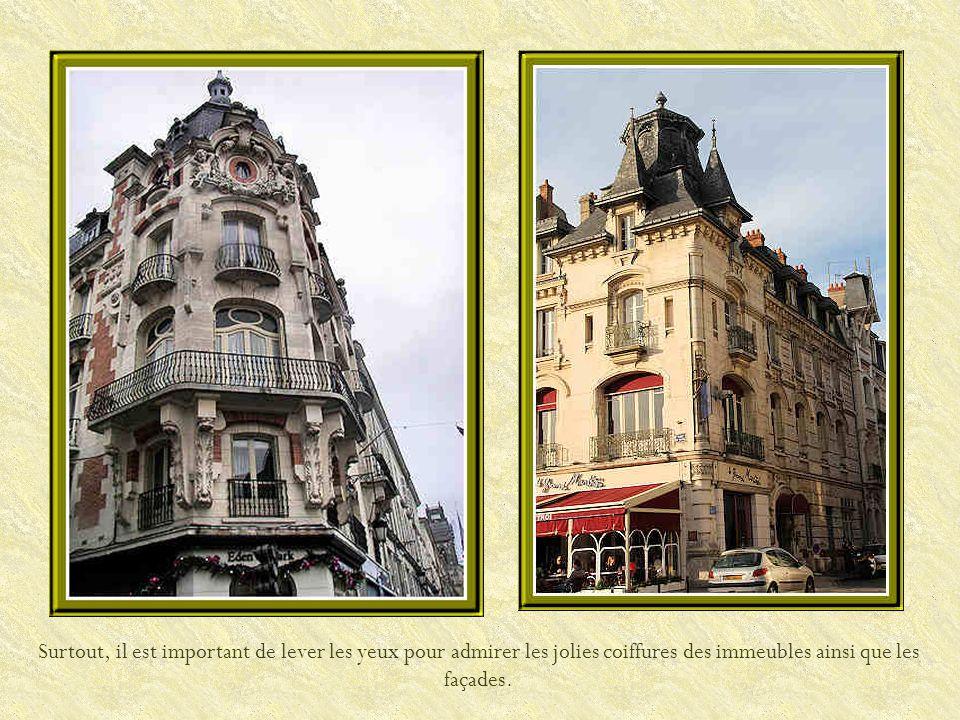La rue de la République.