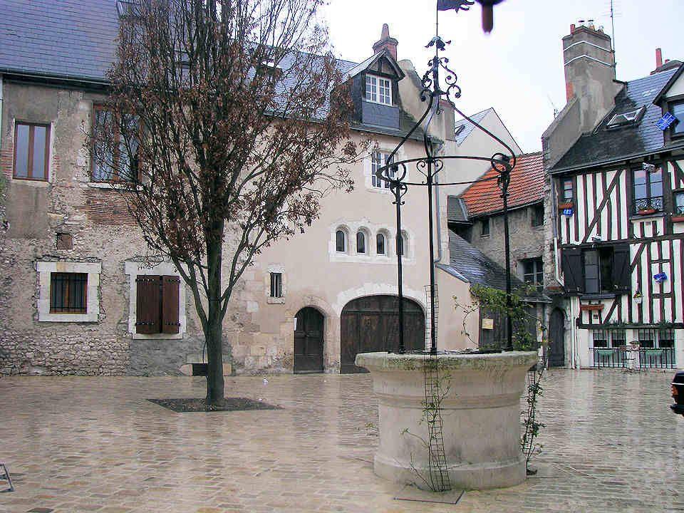 Maisons médiévales du quartier historique.