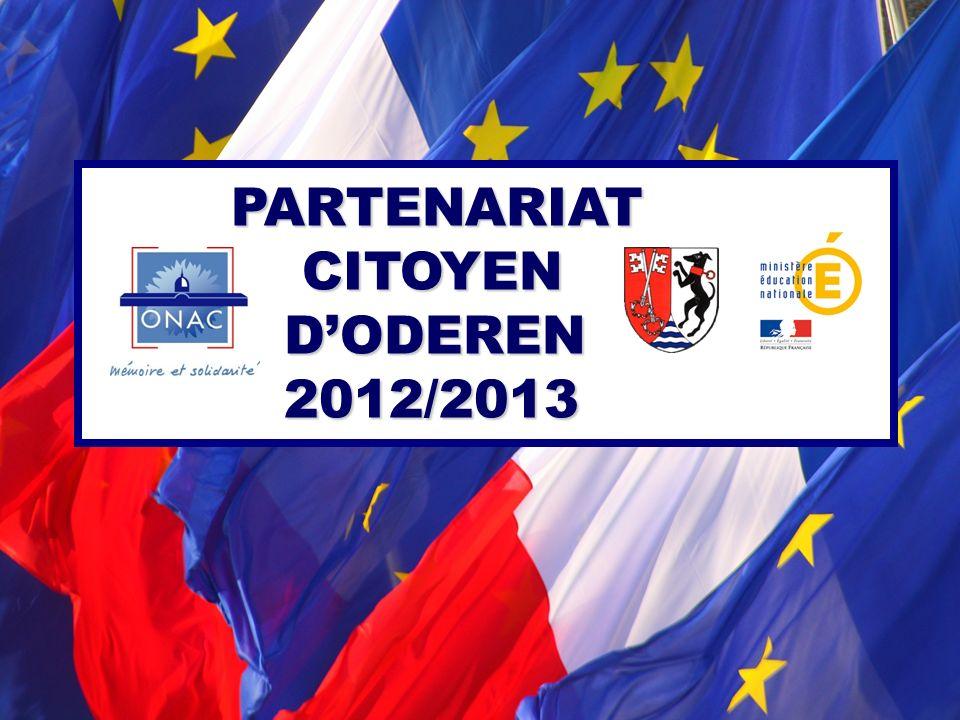 PARTENARIAT CITOYEN DODEREN 2012/2013 PARTENARIAT CITOYEN DODEREN 2012/2013