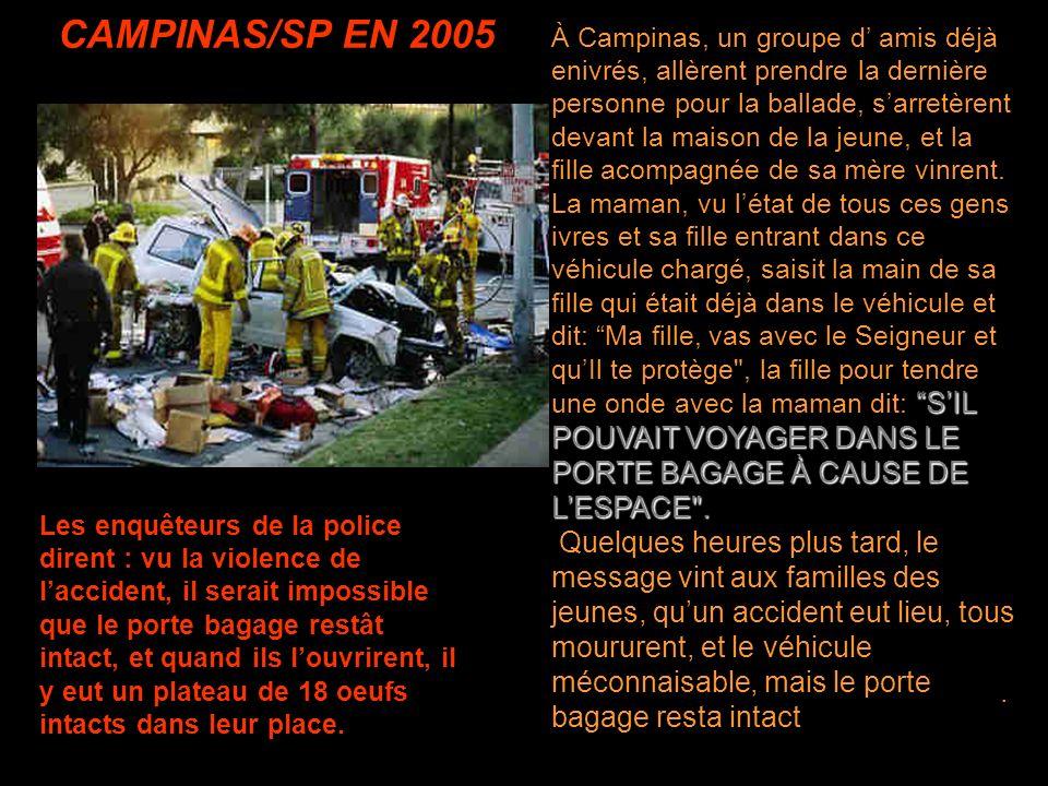 CAMPINAS/SP EN 2005.