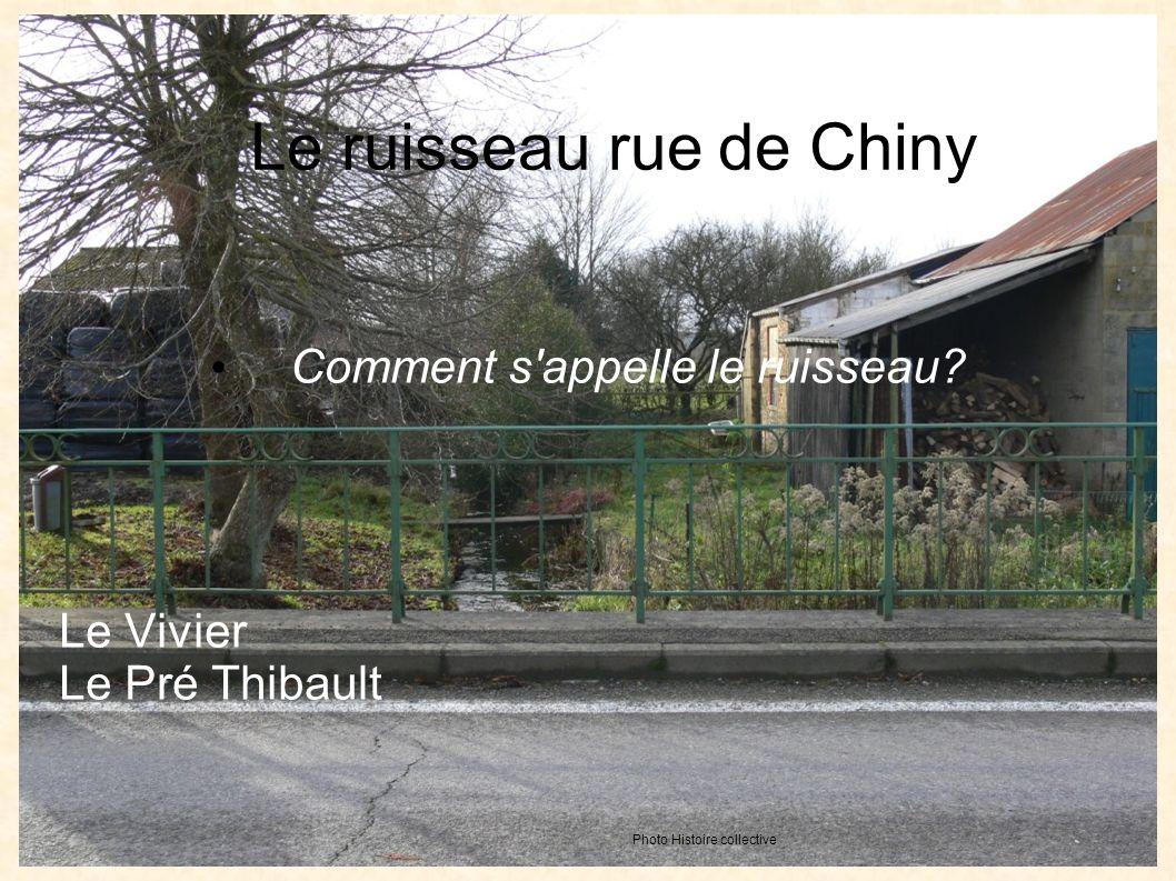 Le ruisseau rue de Chiny Comment s appelle le ruisseau.