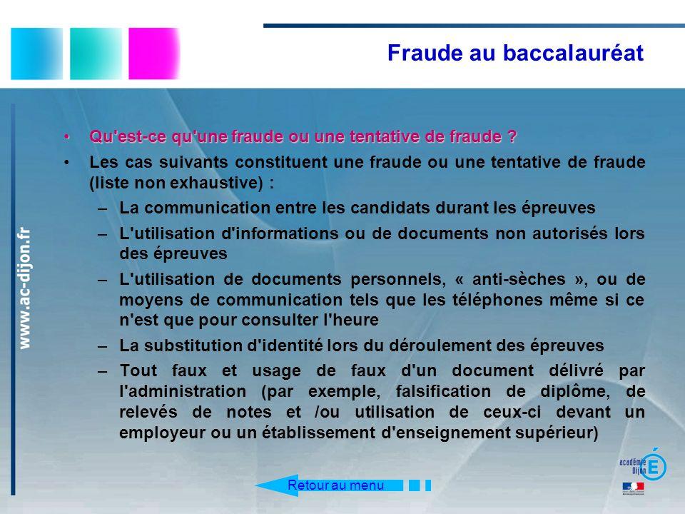 Qu'est-ce qu'une fraude ou une tentative de fraude ?Qu'est-ce qu'une fraude ou une tentative de fraude ? Les cas suivants constituent une fraude ou un