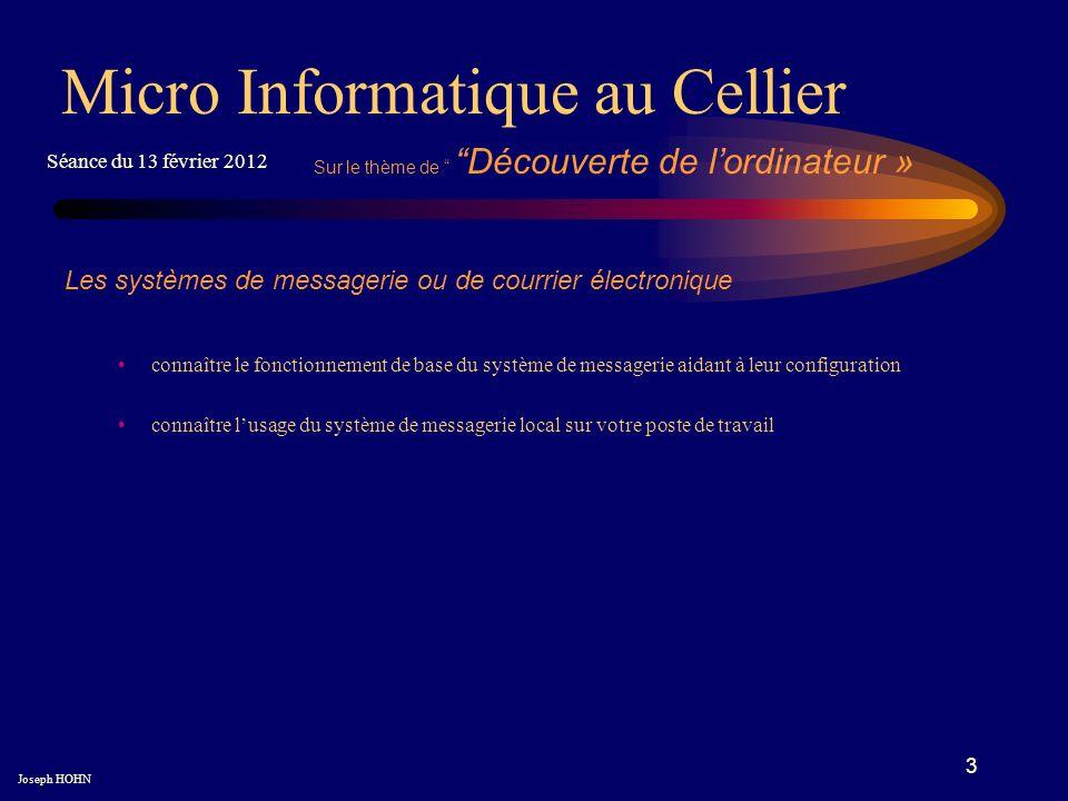 3 Les systèmes de messagerie ou de courrier électronique connaître le fonctionnement de base du système de messagerie aidant à leur configuration conn