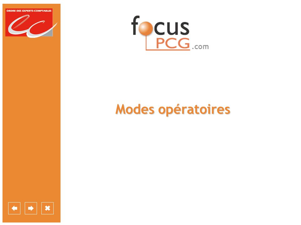 .com Modes opératoires