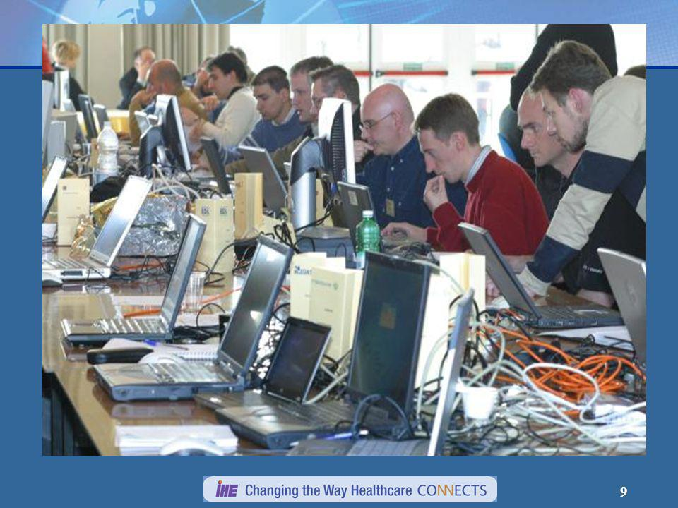 10 Participation au Connect-a-thon en Europe 20012002200320042005 20062007