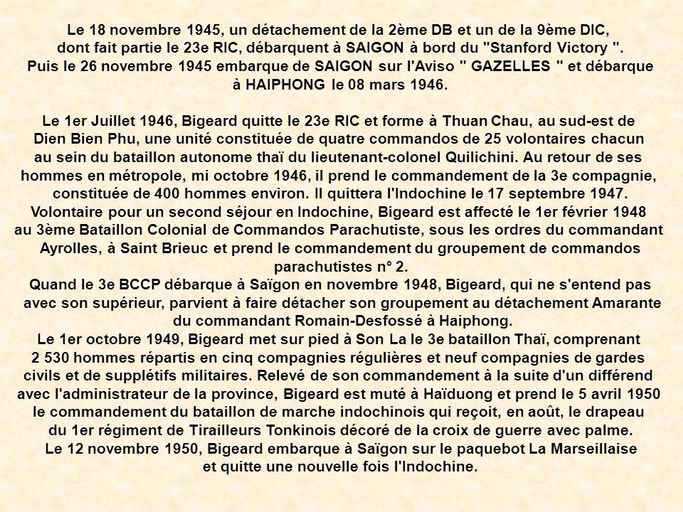 Le cercueil, recouvert par le drapeau français, était orné de la grand-croix de la Légion d honneur, du képi et de la casquette kaki des paras du général, alors qu une gerbe de la présidence de la République avait été apposée au pied de la dépouille