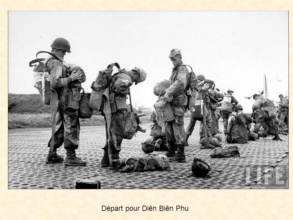Haiphong, la haute région, le saut sur Tula en liaison avec les deux autres postes menacés eux aussi de Nghiaho et Gia Hoi, la terrible retraite par le col de Kao Phu qui après Nasan, un de nos rares succès, malheureusement devait inciter les chefs à en reproduire la tactique dans la triste cuvette aux cinq collines de Diên Biên Phu Diên Biên Phu victoire