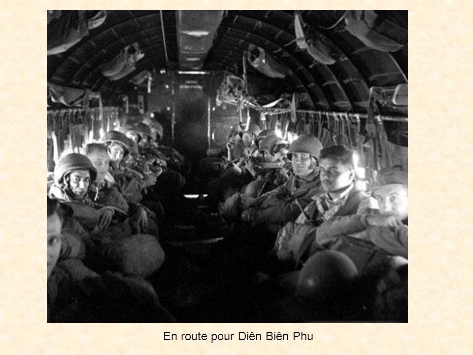 Départ pour Diên Biên Phu