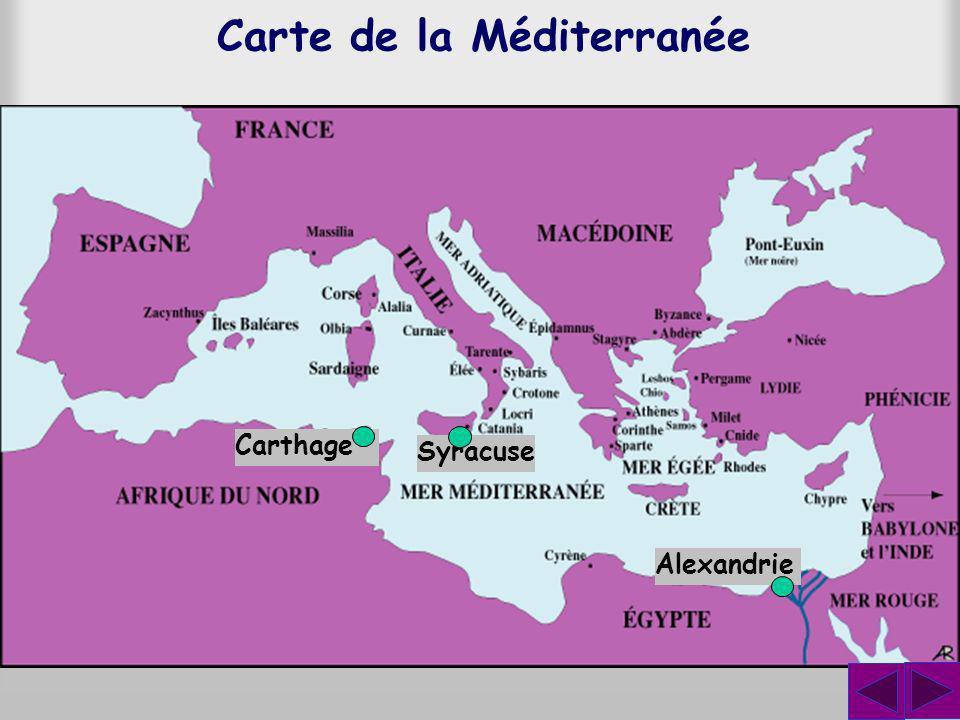 On raconte plusieurs anecdotes sur Archimède et la plus célèbre est lhistoire de la couronne du roi Hiéron.